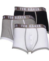 Ted Baker Guavas Plain Assorted Boxershort Grijs