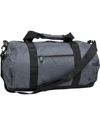 Original Penguin Lodge Roll Slate Weekendtas Gemeleerd Donkergrijs