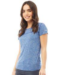 Berghaus - Tee-Shirt Voyager Tech Bleu - Lyst
