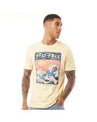 Jack & Jones Socal T-shirt Geel