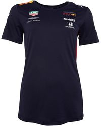PUMA Tee-Shirt Aston Martin Red Bull Racing Team Bleu Marine
