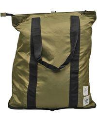 adidas Originals Packable Tote Raw Khaki - Green