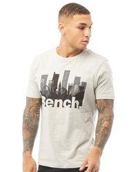 Bench Salford T-shirt Grey Marl