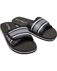 Brave Soul Mateo Slides Sandalen Zwart