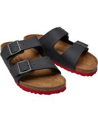 e94176a07e00 Lyst - Birkenstock Sandals - Birkenstock Sandals   Flats Online Sale