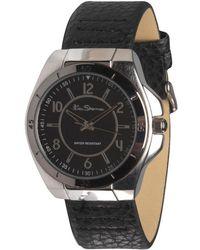 Ben Sherman   Water Resistant Quartz Leather Strap Watch Brown   Lyst