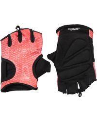 adidas - Climalite Graphic Gloves Energy/black/tech Rust Metallic - Lyst