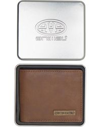 Animal Jeremie Leather Wallet Brown