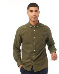 U.S. POLO ASSN. Uspa Core Oxford Shirt Ivy Green
