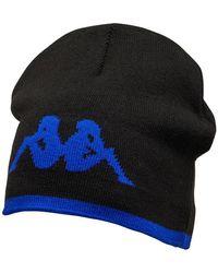 Kappa Sc Bastia Beanie Black/blue Royal