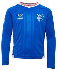 Hummel Short de Foot RFC Rangers Home Junior Bleu