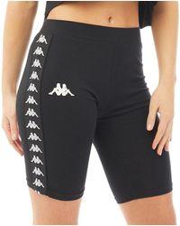 Kappa 222 Banda Dicles Cotton Cycling Shorts Black/black