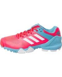 adidas - Adipower Hockey Iii Boots Shock Red/blue - Lyst