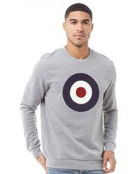 Ben Sherman - Target Sweatshirt Navy - Lyst