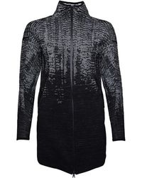 adidas - Z.n.e. Pulse Knit Cover Up Black - Lyst