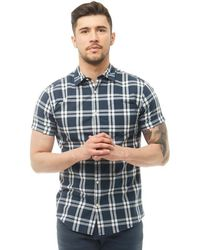 Jack & Jones - Fischer Short Sleeve Shirt Total Eclipse - Lyst