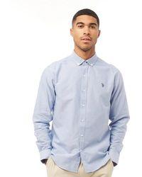 U.S. POLO ASSN. Core Oxford Shirt Sky Blue