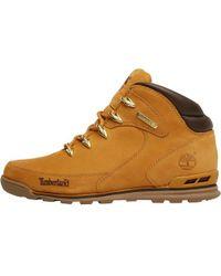 Timberland - Euro Rock Hiker Nubuck Boots Wheat - Lyst