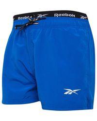 Reebok Zwemshort Helderblauw