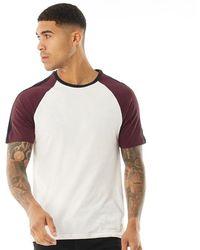 Jack Wills Verwood Raglan T-Shirt Weiß