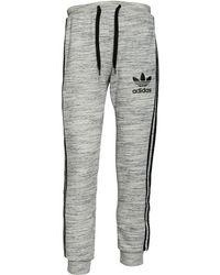 adidas Originals - California Sweat Trousers Medium Grey Heather/black - Lyst