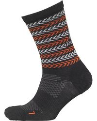 Reebok - One Series Stripe Crew Socks Black - Lyst