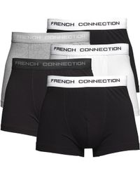 French Connection Vijf Pack Boxershort Zwart