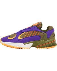adidas Originals Yung-1 Trail Sneakers Khaki - Mehrfarbig