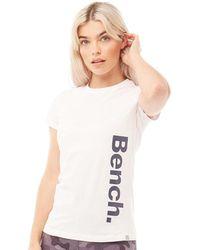 Bench Tee-Shirt Chand Printed Blanc
