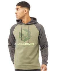 Jack & Jones Sweat à Capuche Star Vert