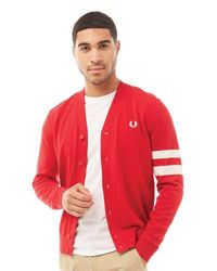 Fred Perry Vest Rood