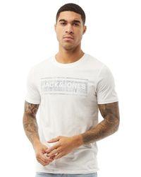 Jack & Jones Tee-Shirt Jjnd Blanc