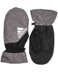 adidas Winter Golf Knitted Gloves Black/grey - Gray
