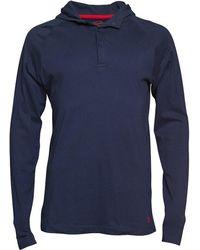 Original Penguin - Hooded Jersey Top Dress Blue - Lyst