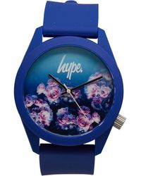 Hype Rose Fade Watch Navy Rose - Blue