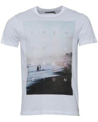 French Connection - Beach T-shirt White - Lyst