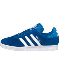 adidas Originals Gazelle 2 Trainers Collegiate Royal/white - Blue