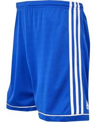adidas Squadra 17 Shorts Bold Blue/white