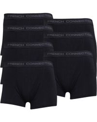 French Connection Zeven Pack Boxershort Zwart