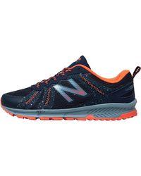 New Balance Wt590 V4 Trail Running Shoes Galaxy - Blue
