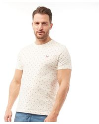 Crew Tee-Shirt Blanc Cassé