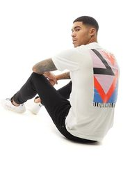 Y-3 Tee-Shirt Swim Graphic e Blanc