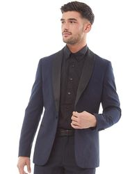 French Connection Dinner Jacket Blazer Marine - Blue