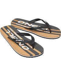 O'neill Sportswear Profile Cali Flip Flops Black