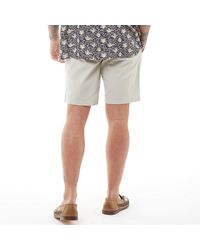 French Connection Chino 4 Shorts Stone - Natural