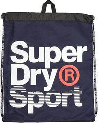 Superdry Drawstring Tas Marineblauw
