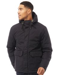 Fred Perry Quilted Stockport Jacket Navy - Blue