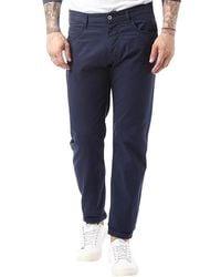 Armani Jeans - J45 Slim Fit Jeans Navy - Lyst