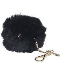 Ted Baker Lolaa Fluffy Character Bag Charm Black