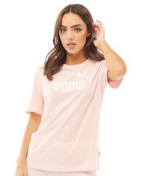 PUMA Essentials T-Shirt Rosa - Pink
